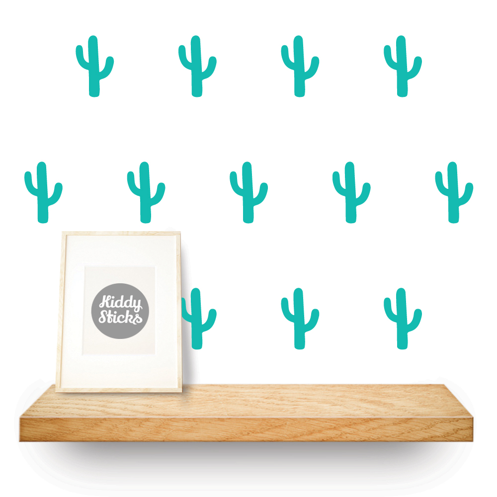 cactus shaped stickers
